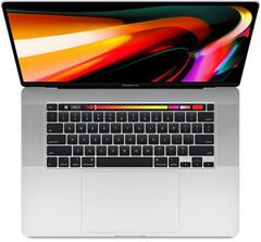 Notebook Apple MacBook Pro 16 Touch Bar 512 GB - Silver - CZE KB