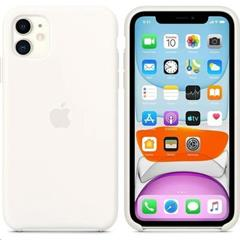 Kryt Apple Silicone Case pro iPhone 11 bílý