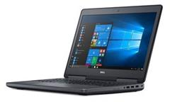 "Notebook Dell Precision 7520 15,6"" FHD, i7-7700HQ, 32GB, 256GB SSD + 1TB, Quadro M2200 4GB, W10 Pro, 3YNBD"