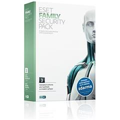 Software Eset Family Security pack 3 licence, 1rok - krabice