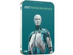 Software Eset NOD32 Antivirus pro MS Win-4 instal.+3roky UPD
