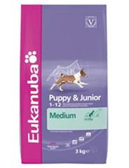 Granule Eukanuba Dog Puppy&Junior Medium 15kg