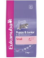 Granule Eukanuba Dog Puppy&Junior Small 3kg