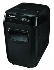 Skartovač Fellowes AutoMax 200C, P-4, Cross cut 4×38mm, zásuvka 200 listů, 32l, CD+DVD, Credit Card, NBÚ