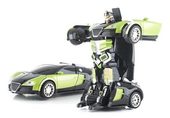 Hračka G21 R/C robot Green King