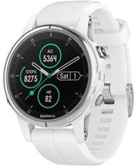 Hodinky Garmin Fenix5S Plus Sapphire White Optic, White band