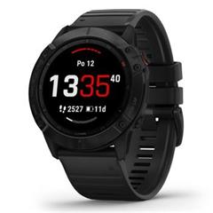 Hodinky Garmin fenix6X PRO Glass Black/Black Band (MAP/Music)