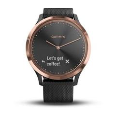 Hodinky Garmin vívomove Optic Sport Rose Gold Black