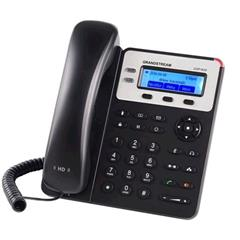 Telefon Grandstream GXP1625 VoIP telefon - 2x SIP účet, HD audio, 3 program.tlačítka, switch 2xLAN 10/100Mbps, PoE