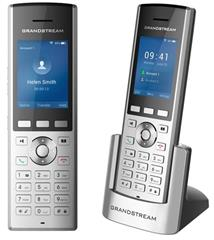 "Telefon Grandstream WP820 WiFi IP, 2,4"" bar. displ., 2SIP úč., video, BT, Micro USB, roaming hovoru"
