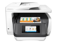 Tiskárna HP All-in-One Officejet Pro 8730 A4, USB/LAN/Wi-Fi, print/copy/scan/fax (duplex), bílá
