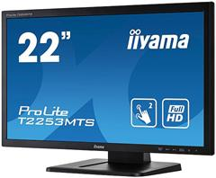 "Dotykový monitor IIYAMA ProLite T2253MTS-B1, 21,5"" LED, Optical, 2ms, 220cd/m2, USB, VGA/DVI/HDMI, AG, černý"