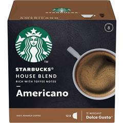 Kávové kapsle Nestlé Dolce Gusto Medium House Blend 12 ks Starbucks