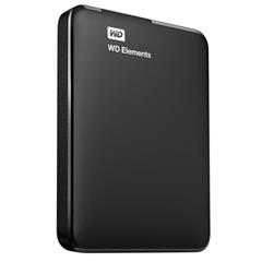 "Disk Western Digital Elements Portable 750GB, USB 3.0, 2.5"" externí, Black"