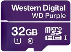 Paměťová karta Western Digital Purple microSDHC 32 GB 80 MB/s